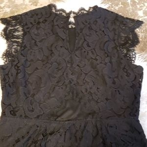 Xhilaration Dresses - Black Lace high neck cocktail dress XL